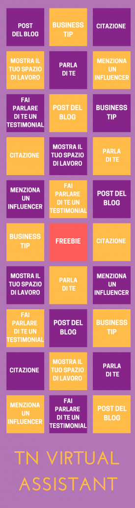 strategia instagram